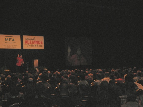 Kathleen Passanisi, Hall of Fame Speaker, Author and Humorist was incredibly funny and informative.